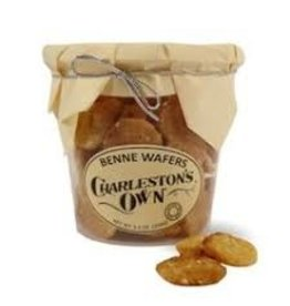 Charleston's Own Benne Wafers, 5.5oz Container