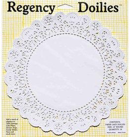 "Harold Imports Regency Round Doilies, 10"""