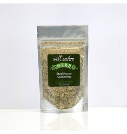 SALT Sisters Steakhouse Seasoning, fine 4oz