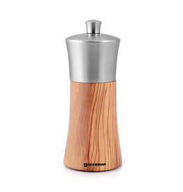 Swissmar Torre Olive Pepper Mill with Stainless Top 6''