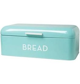 Now Designs Bread Box Turquoise Lg