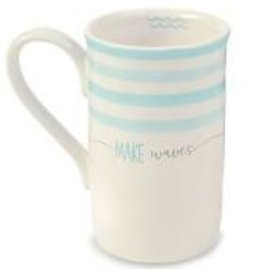 Mudpie Mug - Make Waves 12oz DISC