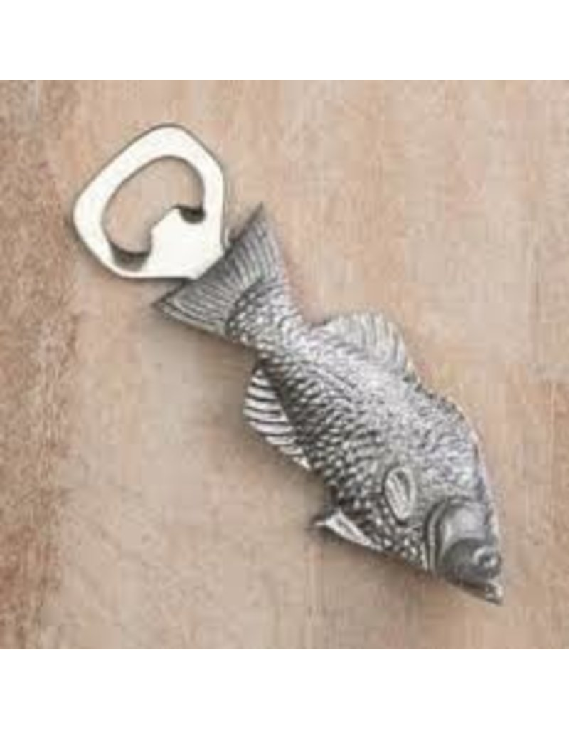 Fish Bottle Opener, Silver