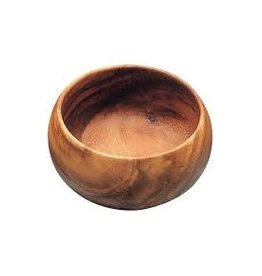 Pacific Merchants Acacia Wood Round Salad Bowl 6x3