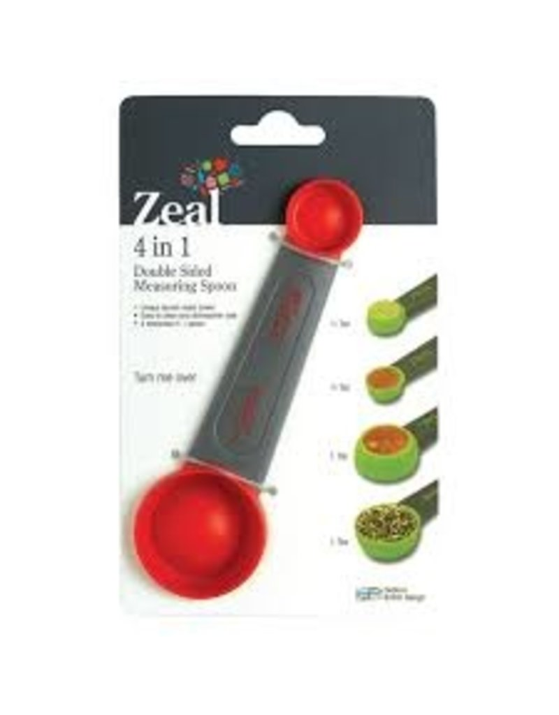 Kitchen Innovations 4 in 1 Double Sided Measuring Spoon