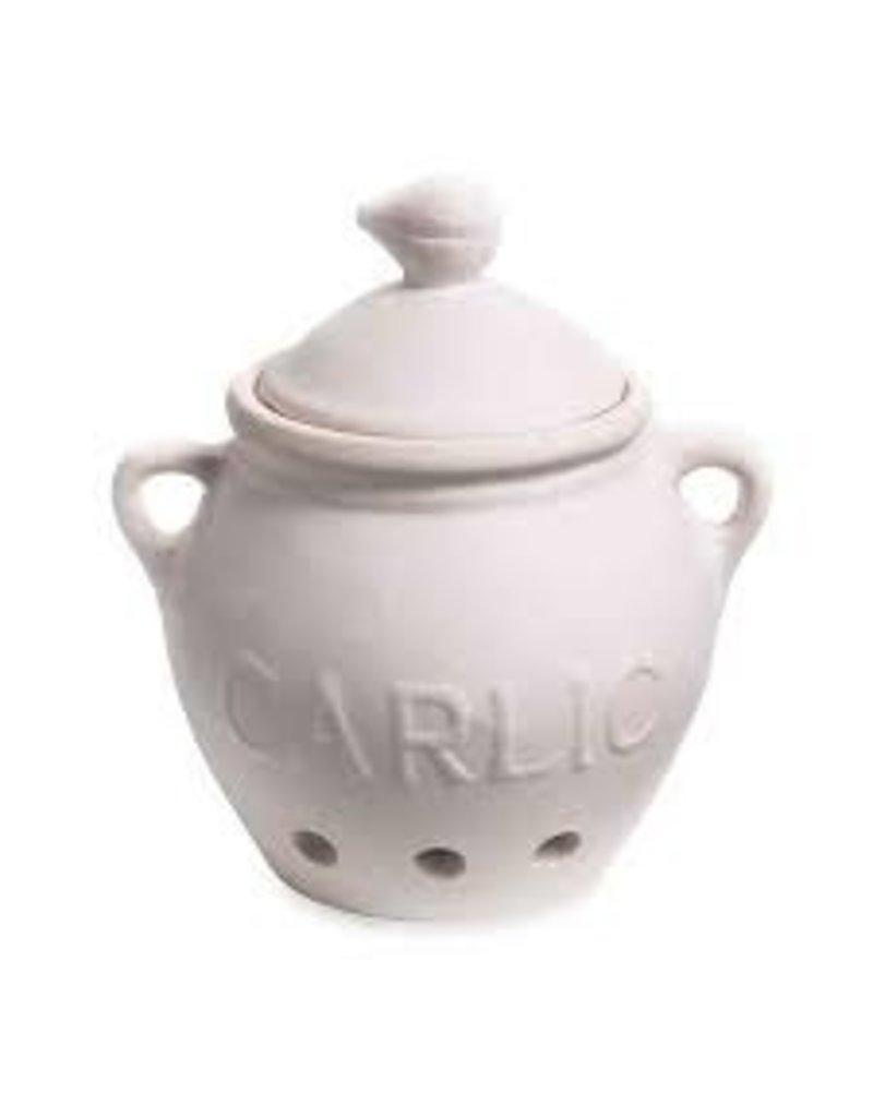 Foxrun Garlic Keeper, Ceramic White