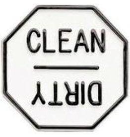 Foxrun Clean or Dirty Dishwasher Magnet, Plastic