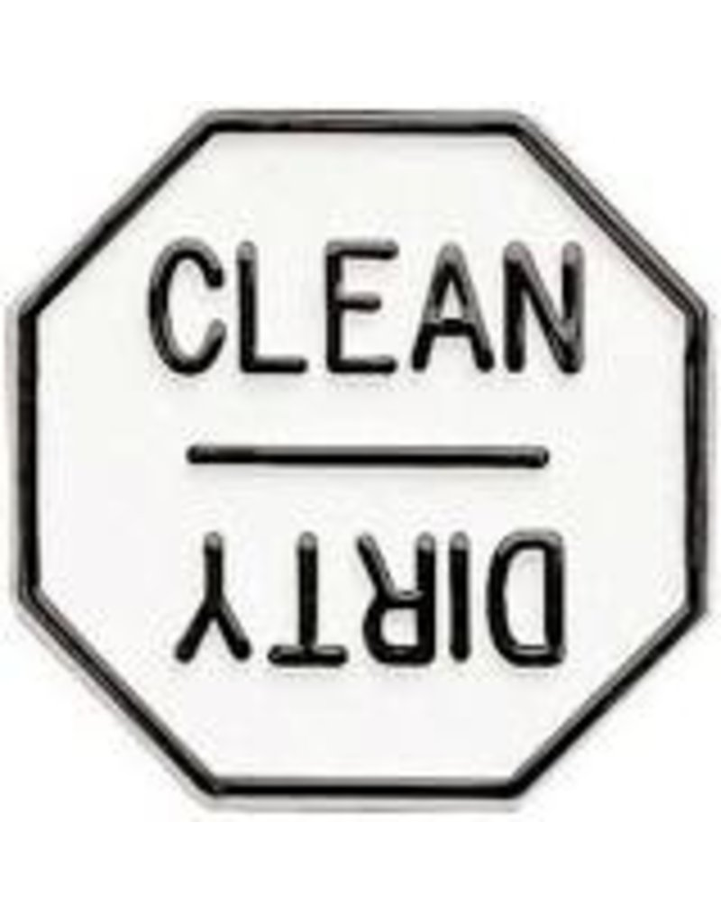 Foxrun Clean or Dirty Dishwasher Magnet, Plastic