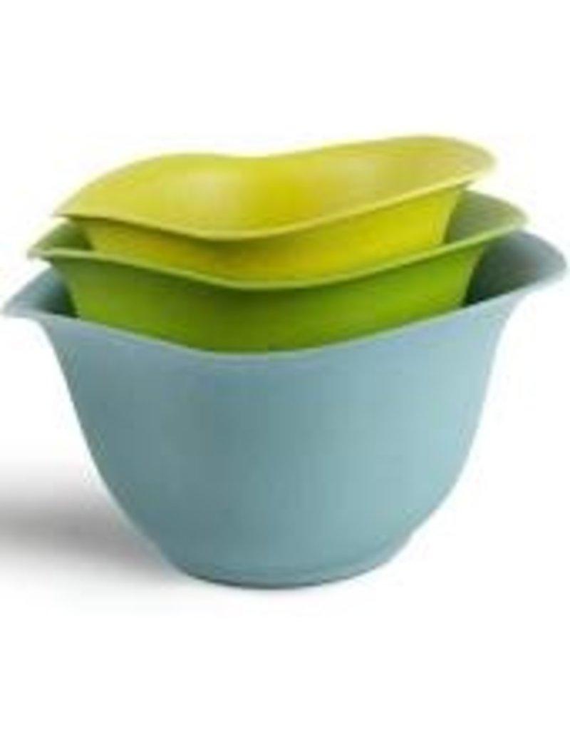 Architec EcoSmart Purelast Mixing Bowls, Set of 3 - 2, 3, 4 qt