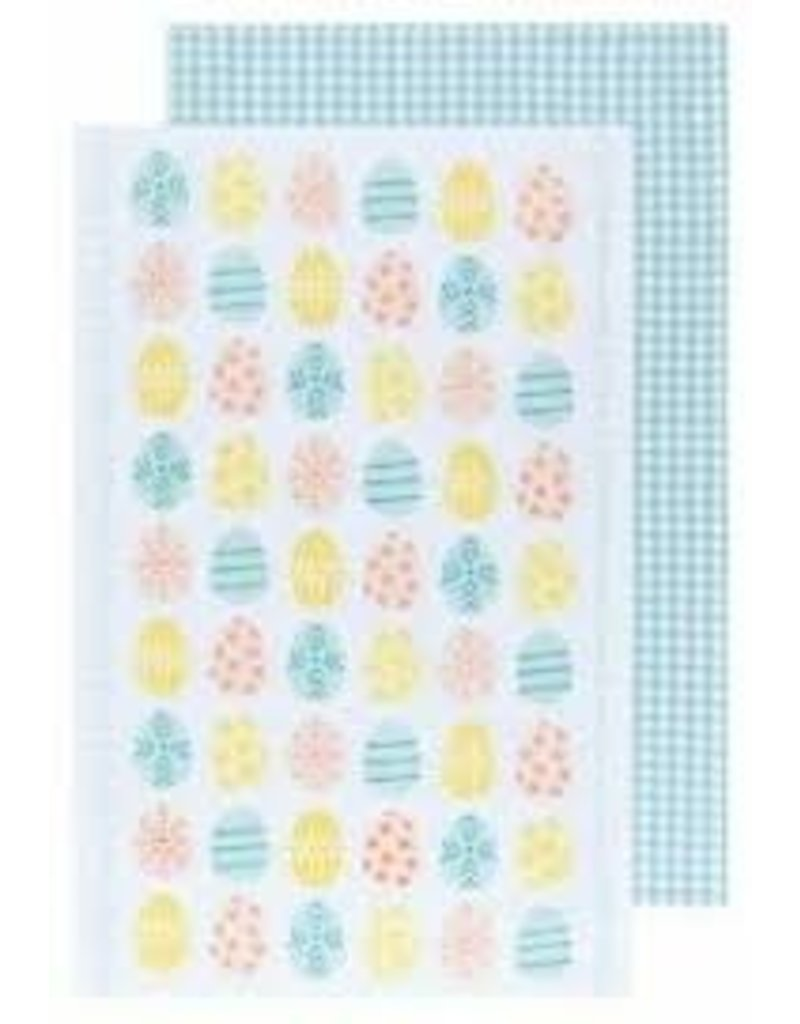 Now Designs Dish towel Easter Eggs Set of 2