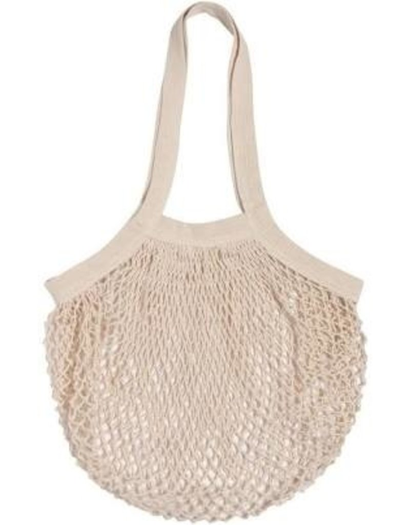 Now Designs Stretchy Net Shopping Bag, Natural disc