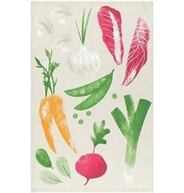 Now Designs Dish towel Veggies