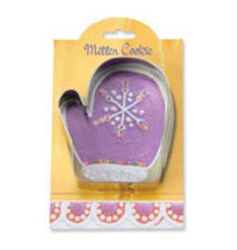 Ann Clark Cookie Cutter Holiday Mitten with Recipe Card, MMC