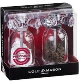 Cole & Mason/DKB Tap Style Salt and Pepper Set, Acrylic
