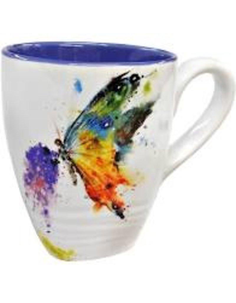 Demdaco Dean Crouser Mug - Butterfly 16oz