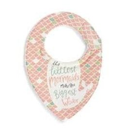 Demdaco Baby Bib - Mermaid