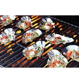 Foxrun Outset Stainless Oyster Shells Set of 12