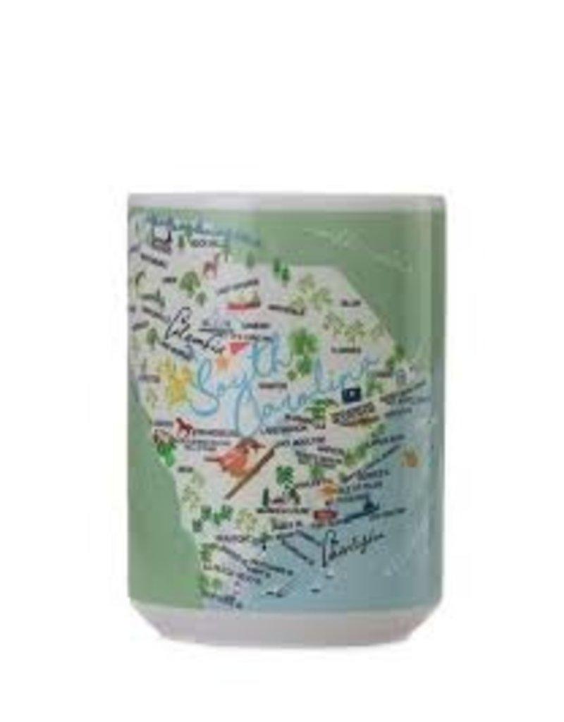 GalleyWare Mug, SC Map15oz disc