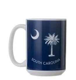 GalleyWare Mug, Blue SC Palmetto 15oz