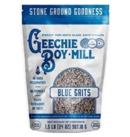Geechie Boy Geechie Boy Stone Ground Indigo Blue Grits 24oz