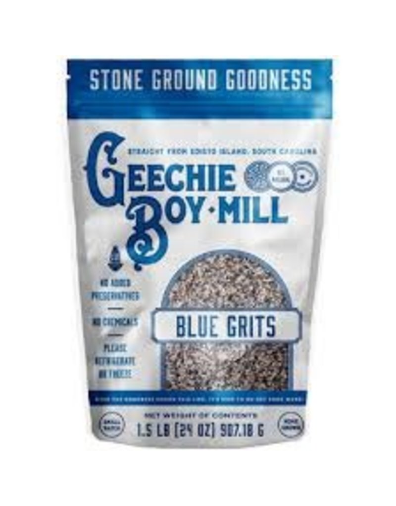 Geechie Boy Geechie Boy Stone Ground Indigo Blue Grits 24oz
