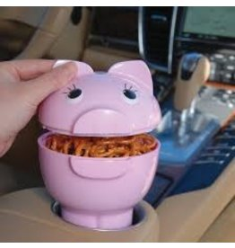 Gourmac/Hutzler Pig Out Car Cupholder Snack Bowl
