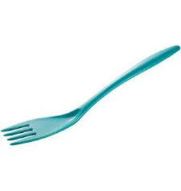 "Gourmac/Hutzler Fork 12.5"", Melamine, Turquoise"