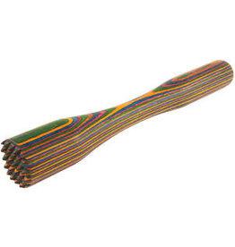 Island Bamboo/Wilshire Rainbow Pakkawood Muddler