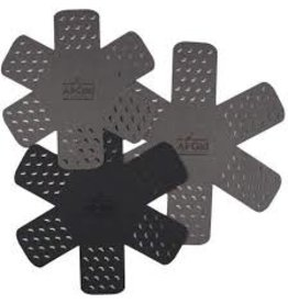 John Ritzenthaler AllClad 3pc Pan Protectors, Black