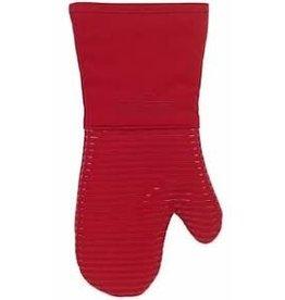 John Ritzenthaler AllClad Silicone Mitt Glove, Chili Red