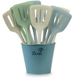 Kitchen Innovations Silicone Flexible Spatula/Turner, Coastal Color