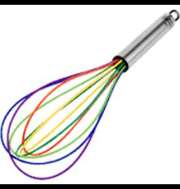 "Kuhn Ricon Silicone Rainbow Balloon Whisk 10"" disc"