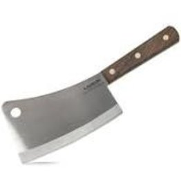 "Lamson 7.25"" Walnut Handle Meat Cleaver DISC"