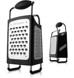 Microplane 4 Sided Box Grater cir