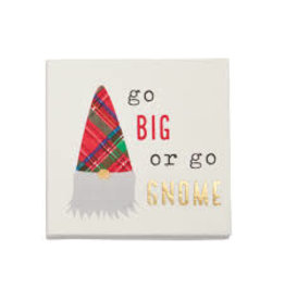 Mudpie Holiday Gnome Napkins-Go Big