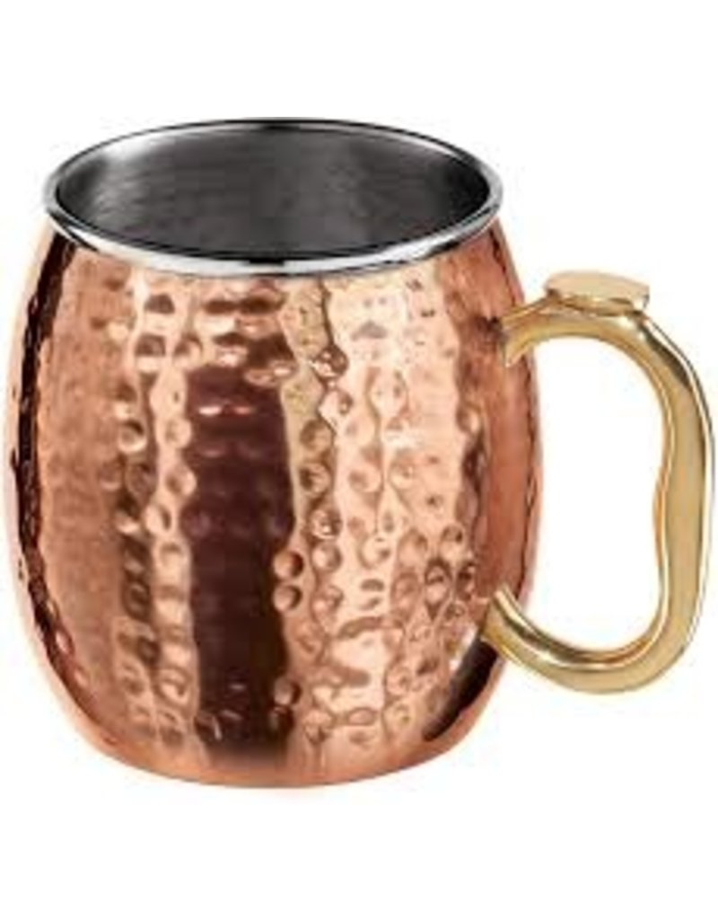 Oggi Hammered Moscow Mule with Stainless Interior 20oz