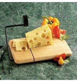 Prodyne Thick Beechwood Cheese Slicer 9.5x6