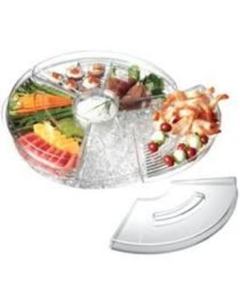 Prodyne Acrylic Appetizers-On-Ice with Lids