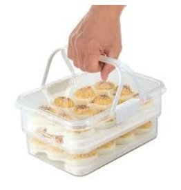 Progressive SnapLock Collapsible Deviled Egg Carrier