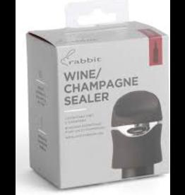 Rabbit Wine/Champagne Bottle Sealer/12