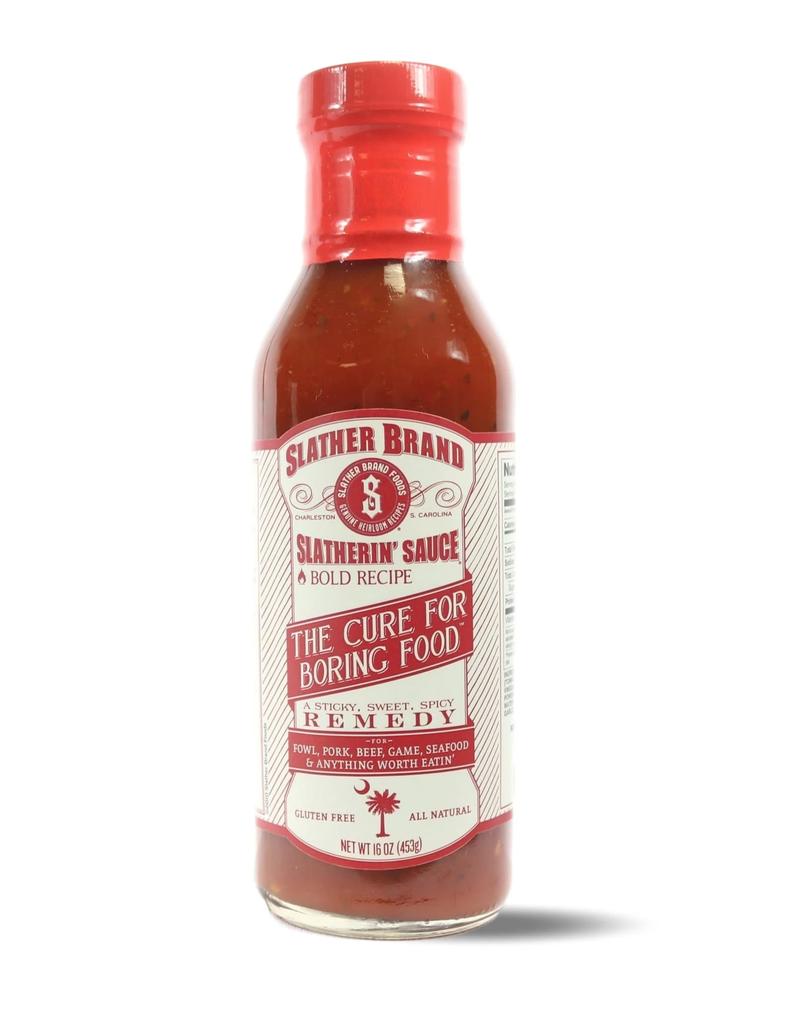 Slather Slather Spicy Sauce 12oz