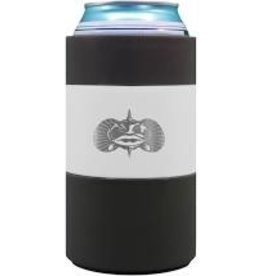 Toadfish Non-Tipping Can Cooler/Koozie, white