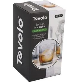 Tovolo Sphere Ice Molds - Set of 2 cir