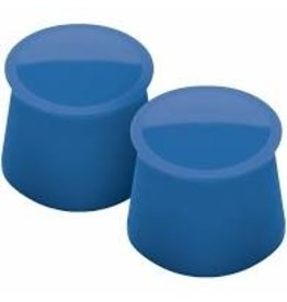 Tovolo Silicone Wine Caps Set of 2 blue