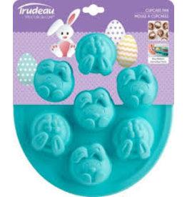 Trudeau Trudeau Cupcake Pan, bunnies