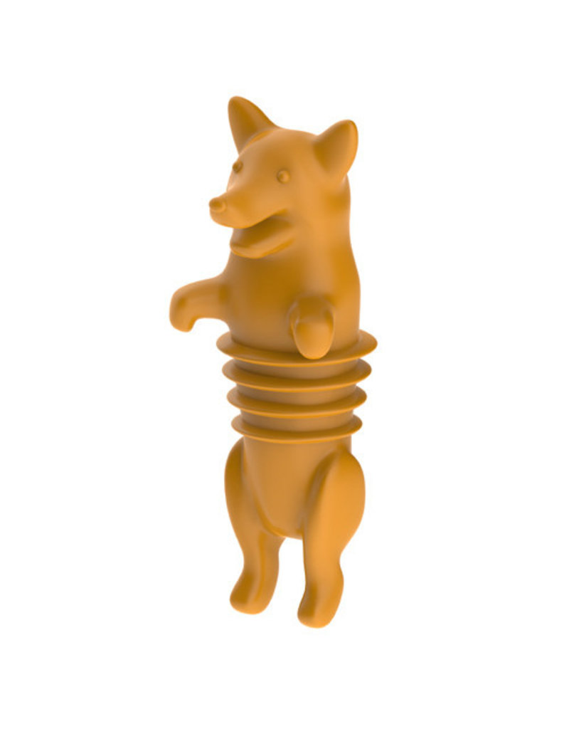True Brands Dog Bottle Stopper
