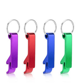 True Brands Straight Key ChainBottle Opener