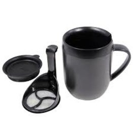 Zyliss/DKB Travel French Press and Coffee and Tea Mug, Single Serve