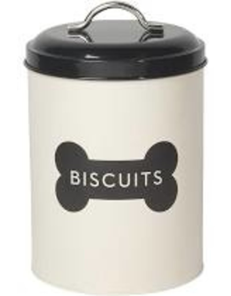 Now Designs Dog Biscuit Tin Ivory