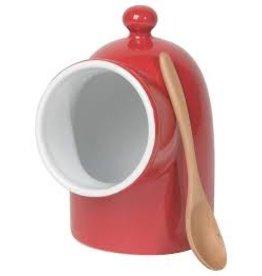 Now Designs Salt Pig Red